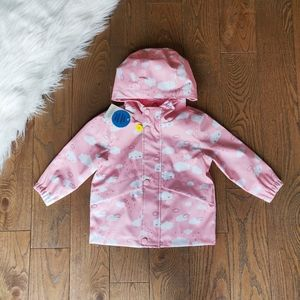 Brand new Pink cloud raincoat by George